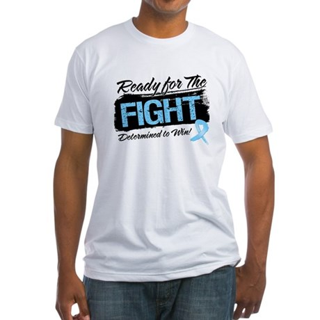 Ready Fight Prostate Cancer Fitted T-Shirt
