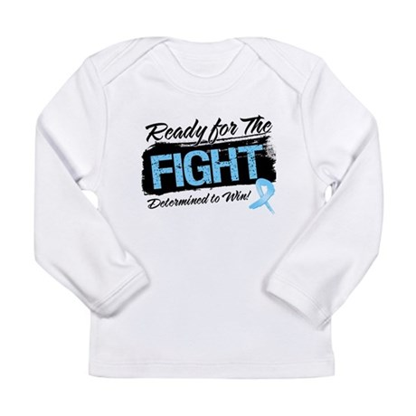 Ready Fight Prostate Cancer Long Sleeve Infant T-S