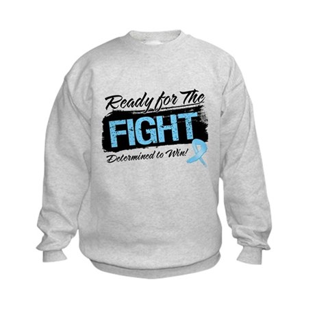Ready Fight Prostate Cancer Kids Sweatshirt
