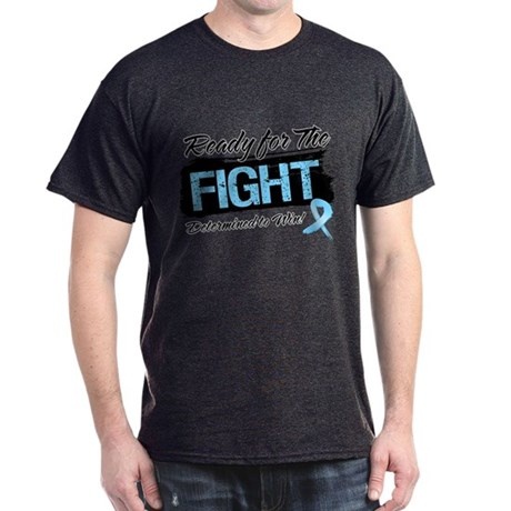 Ready Fight Prostate Cancer Dark T-Shirt