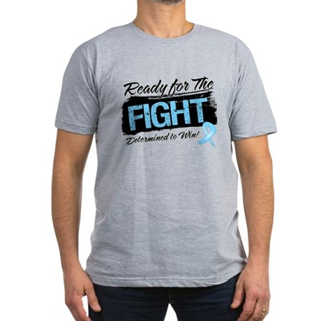 Ready Fight Prostate Cancer Men's Fitted T-Shirt (