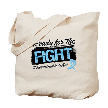 Ready Fight Prostate Cancer Tote Bag