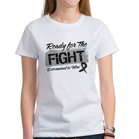 Ready Fight Skin Cancer Women's T-Shirt