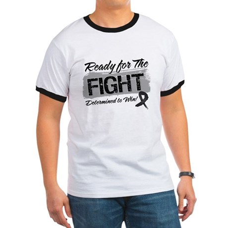 Ready Fight Skin Cancer Ringer T