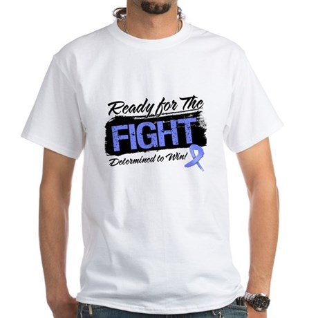 Ready Fight Stomach Cancer White T-Shirt