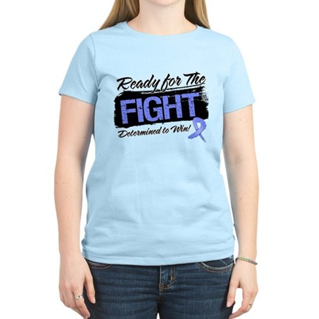 Ready Fight Stomach Cancer Women's Light T-Shirt