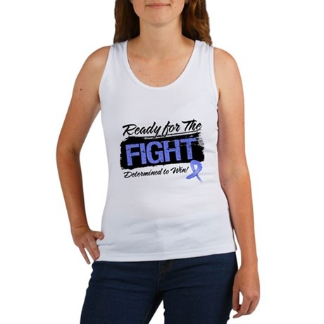 Ready Fight Stomach Cancer Women's Tank Top