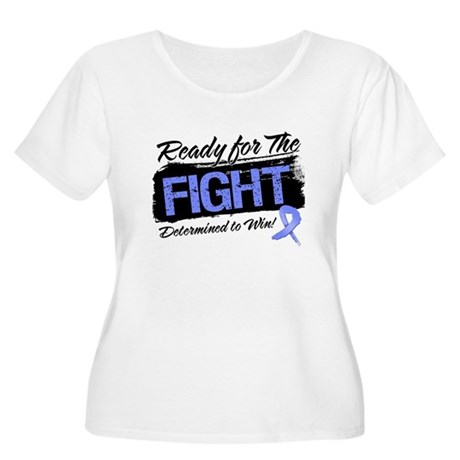 Ready Fight Stomach Cancer Women's Plus Size Scoop
