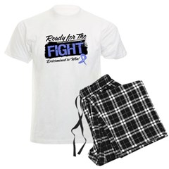 Ready Fight Stomach Cancer Men's Light Pajamas
