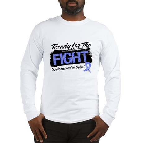 Ready Fight Stomach Cancer Long Sleeve T-Shirt