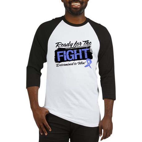 Ready Fight Stomach Cancer Baseball Jersey