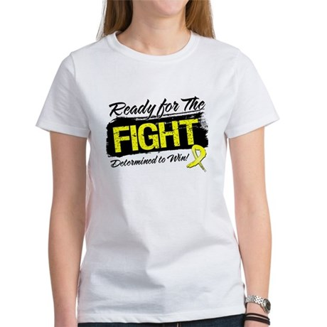 Ready Fight Testicular Cancer Women's T-Shirt
