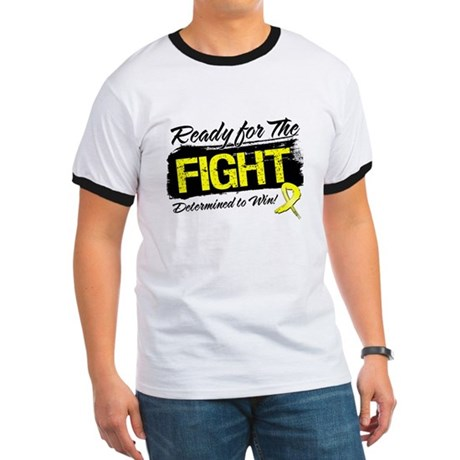 Ready Fight Testicular Cancer Ringer T