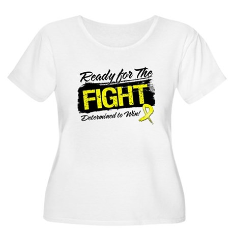 Ready Fight Testicular Cancer Women's Plus Size Sc