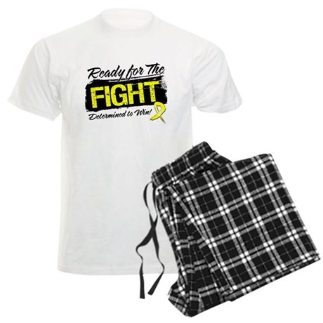 Ready Fight Testicular Cancer Men's Light Pajamas