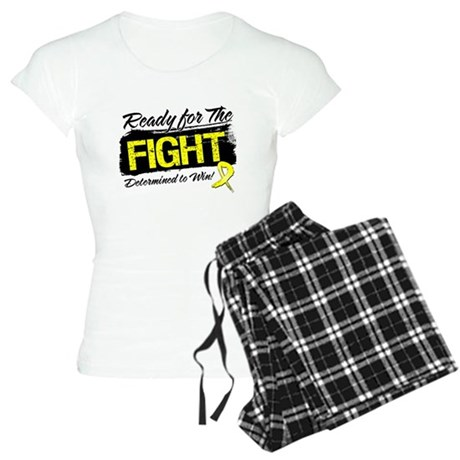 Ready Fight Testicular Cancer Women's Light Pajama