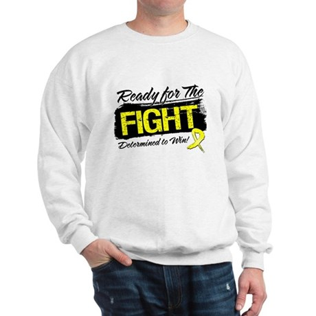 Ready Fight Testicular Cancer Sweatshirt