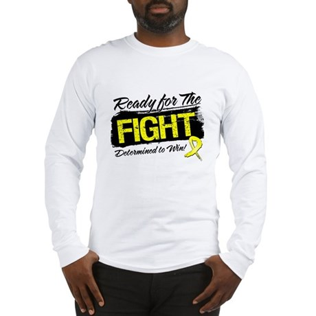 Ready Fight Testicular Cancer Long Sleeve T-Shirt