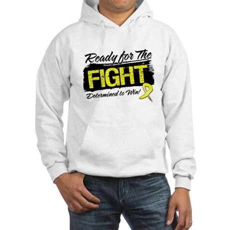 Ready Fight Testicular Cancer Hooded Sweatshirt