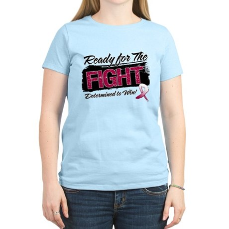 Ready Fight Throat Cancer Women's Light T-Shirt
