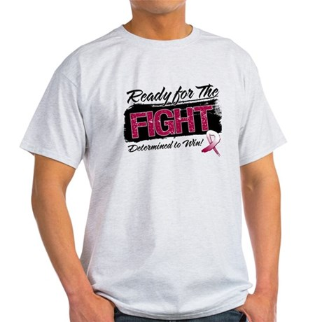 Ready Fight Throat Cancer Light T-Shirt