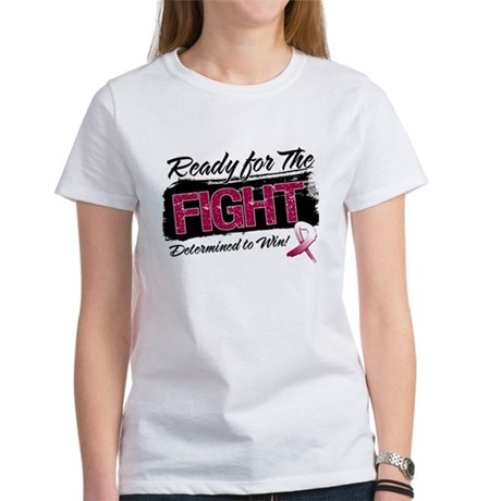 Ready Fight Throat Cancer Women's T-Shirt