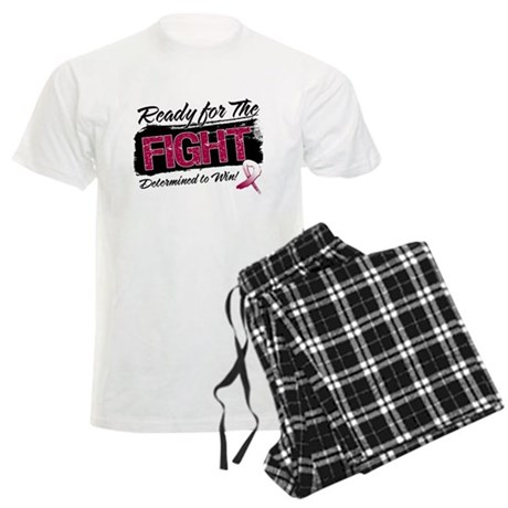Ready Fight Throat Cancer Men's Light Pajamas