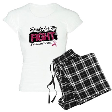 Ready Fight Throat Cancer Women's Light Pajamas