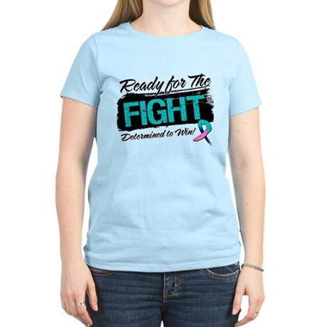 Ready Fight Thyroid Cancer Women's Light T-Shirt