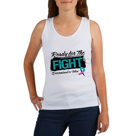 Ready Fight Thyroid Cancer Women's Tank Top