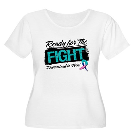 Ready Fight Thyroid Cancer Women's Plus Size Scoop