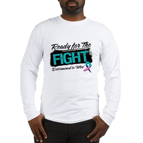 Ready Fight Thyroid Cancer Long Sleeve T-Shirt