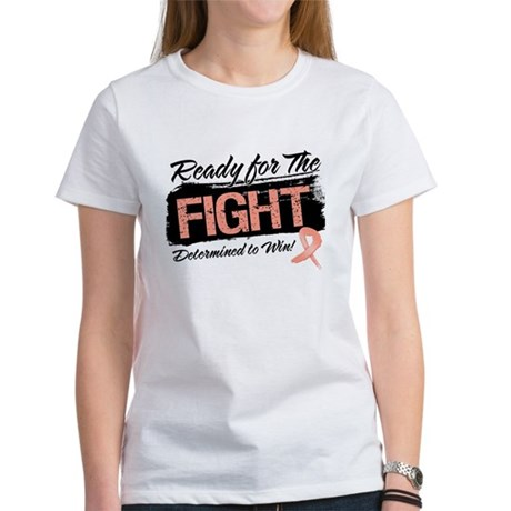 Ready Fight Uterine Cancer Women's T-Shirt