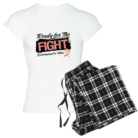 Ready Fight Uterine Cancer Women's Light Pajamas