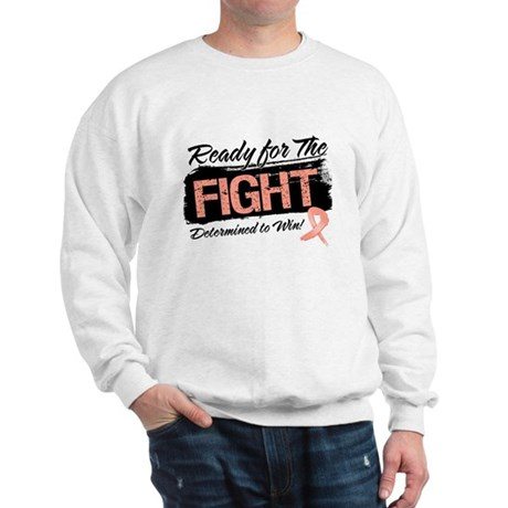 Ready Fight Uterine Cancer Sweatshirt