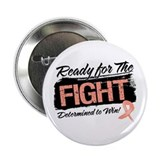 "Ready Fight Uterine Cancer 2.25"" Button (100 pack)"