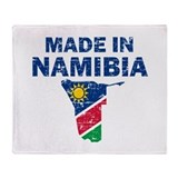 Made In Namibia Throw Blanket