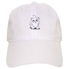 Blue Eyed Cutie Cat Baseball Cap
