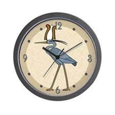 Atef Crown Benu Wall Clock