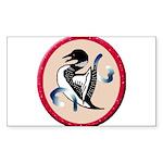 Loon Sticker (Rectangle 50 pk)