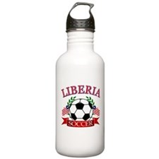 Liberia Football Water Bottle