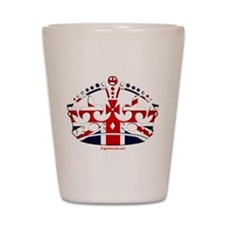 Royal British Crown Shot Glass