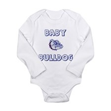 Cute Bulldog baby Long Sleeve Infant Bodysuit