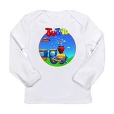 TuTiTu Blue sky Long Sleeve Infant T-Shirt