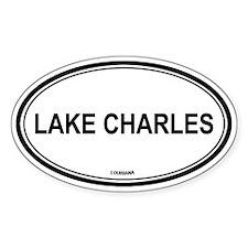 Lake Charles (Louisiana) Oval Decal