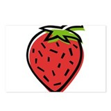 Strawberry10 Postcards (Package of 8)