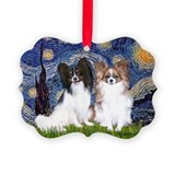 Starry / 2 Papillons Ornament