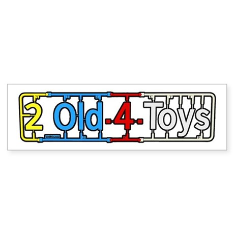 2old4toys 1080p Sticker (Bumper)