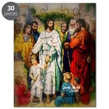 Jesus and the Children Mt:18 Puzzle