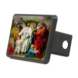 Jesus and the Children Mt:18 Rectangular Hitch Cov